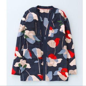 Boden Viscose Flora Cardigan Jacket